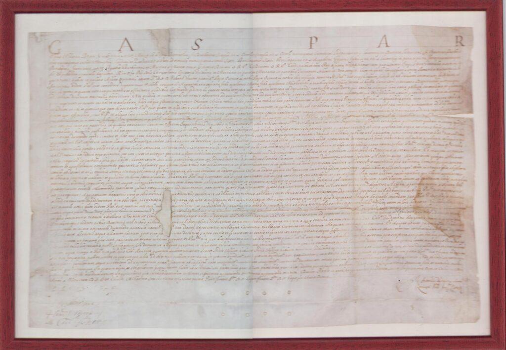 Писмо Римске Курије Требињско-мрканском бискупу Хризостому Антићу 1631. године
